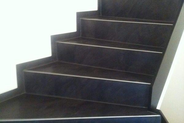 Treppe mit Amtico Designplanken
